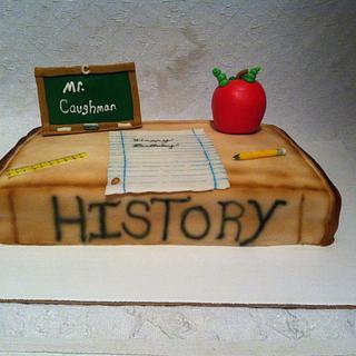 History cake - Cake by Danielle Crawford