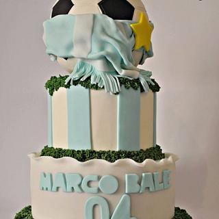 Soccer Cake - Cake by Alina