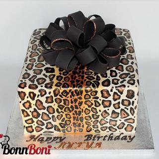 Leopard print  - Cake by Bonn Boni