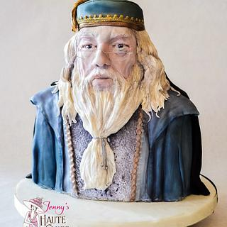 Dumbledore and Voldemort Heroes and Villains Collaboration Cake - Cake by Jenny Kennedy Jenny's Haute Cakes