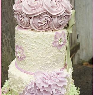 Secret Garden - Made for Cake Central Magazine