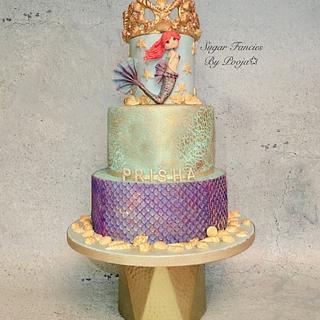 Mermaid Cake - Cake by SugarfanciesbyPooja