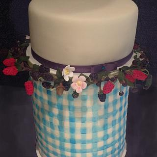 Gingham and Berries Wedding