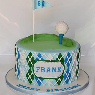 Gentlemans Golf Cake