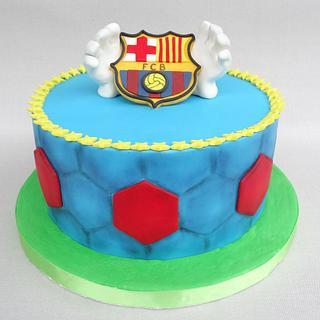 Barça Fans - Cake by Diana