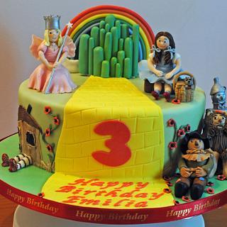 Wizard of Oz Cake - Cake by Sylvania Cakes - Exeter