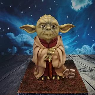 Yoda - Cake by Eliska