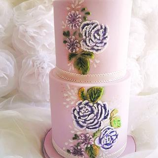 Relief Painting with Royal Icing