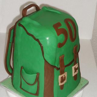Backpack Birthday cake - Cake by Zucker-Kunst, Esi Jaeger