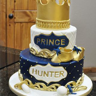 Baby shower for a Prince