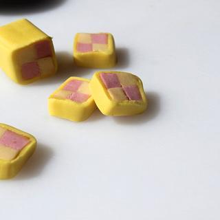 Tutorial on making mini battenbergs :)