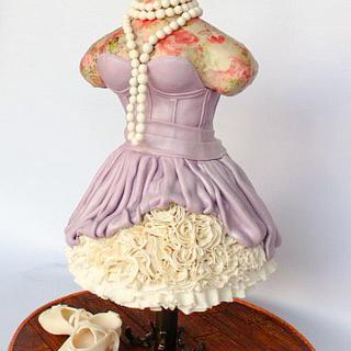 Little Lavender Cake Dress