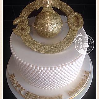 VIVIENNE WESTWOOD INSPIRED CAKE