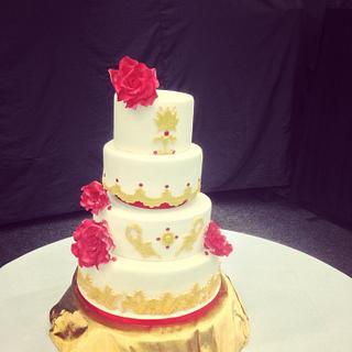 Asian Royale Wedding Cake