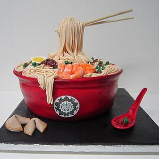 Noodle Bowl Cake