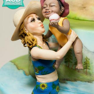 Summer Camp for American Cake Decorating - Modeling Marvels, July-August issue