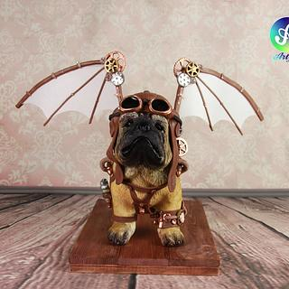 Puppy Pug Aviator