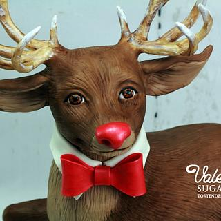 Rudolf at New Year Eve Celebration