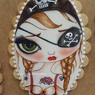 Pirate cookie - Cake by Marilo Latorre  yo misma sweet cakes