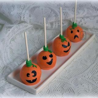 Cake Pop Pumpkins!