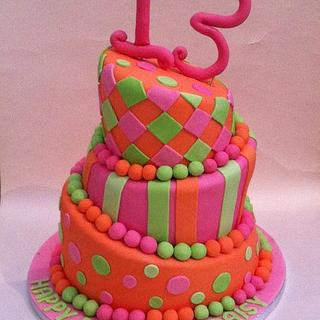 Topsey Turvey Birthday Cake - Cake by Kelly kusel