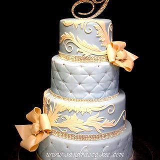 Simply Elegant - Cake by Sandrascakes