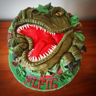 T Rex cake - Cake by Stacys cakes
