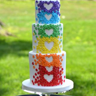 Love Always Wins - Cake by Elisabeth Palatiello