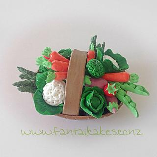 Eat your greens - Cake by Fantail Cakes
