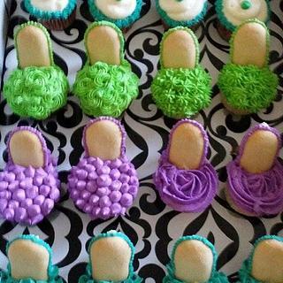 High heel aka Stiletto Cupcakes