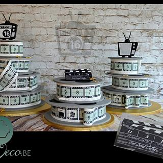 Cake for school theme: movie/t.v. - Cake by Taart en Deco