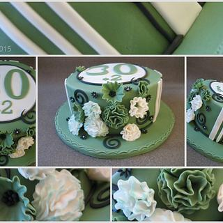 30+2 cake