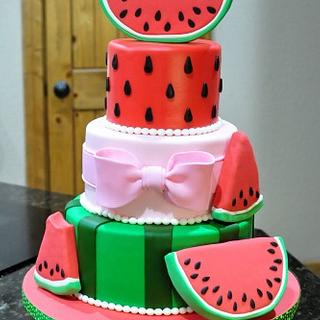 Watermelon cake - Cake by Cakes For Fun