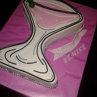 Martini Glass Cake - Cake by Rosa