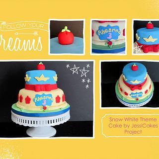 Snow White Theme Cake
