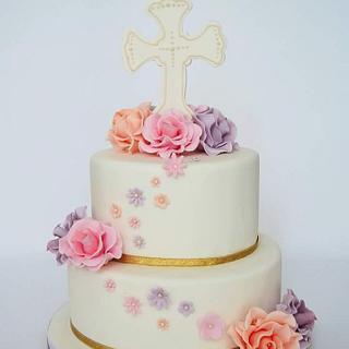 Christening cake - First Comunion