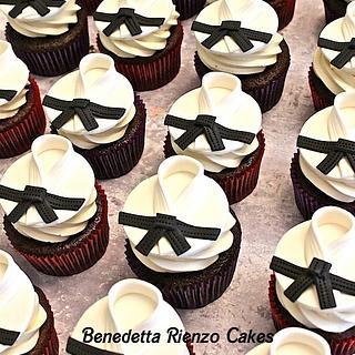 Tae Kwon Do Black Belt Cupcakes - Cake by Benni Rienzo Radic