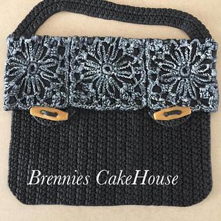 crochetted bag