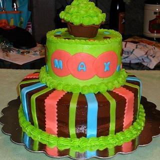 1st Birthday cake - Cake by Dawn Henderson