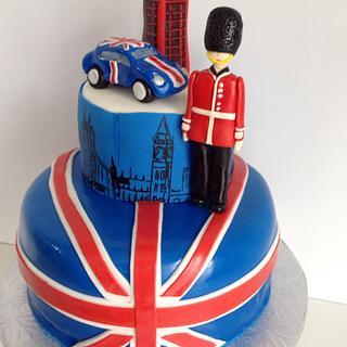 British Love Cake - Cake by Linnquinn