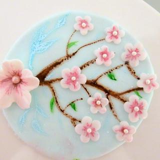 Blossom caketoppers