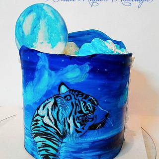 tiger - Cake by Julia Taran