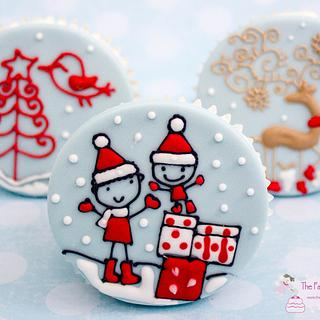 Royal Iced Cupcakes