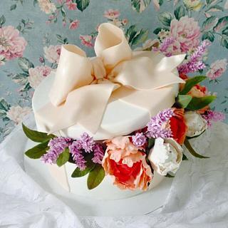 gift  cake - Cake by Casta Diva