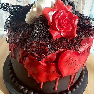 Love - Cake by Tanya