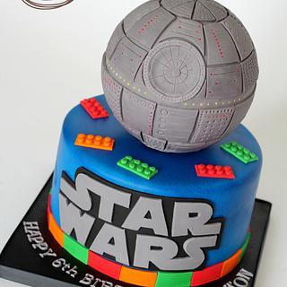 Lego Star Wars  - Cake by Lori's Sweet Cakes