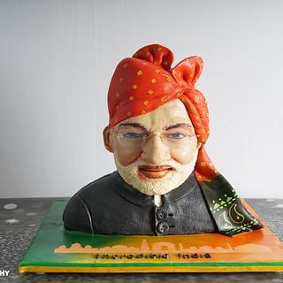 Narendra Modi Cake