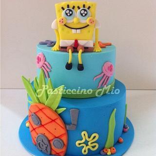 SpongeBob SquarePants' Cake
