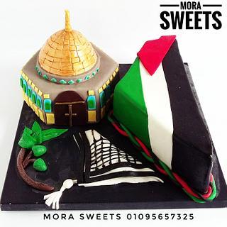 #Palestine_Collaboration - Cake by Samarkhater84