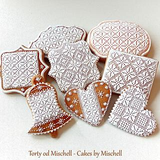 Christmas lace gingerbread